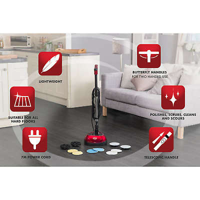 Electric Floor Polishing Machine Polisher Floor Buffer Scrubber Buffing Cleaner