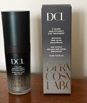 New In Box Dermatologic Cosmetic Laboratories Dcl C Scape High Potency Eye Treat