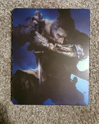 Sekiro: Shadows Die Twice - Steelbook Case only, no game included