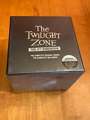 The Twilight Zone: The 5th Dimension (DVD, 2014, 41-Disc Set)