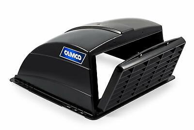 Camco Standard Roof Vent Cover Mounts to RV with Included Hardware-Black (40443)