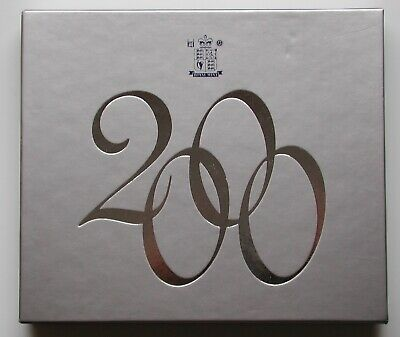 Royal Mint Proof Millennium 2000 Coin Set , Box & Certificate Birth Date Gift