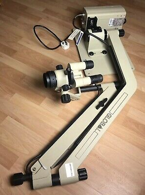Global Entree M704WL High Wall Mount Lighted Surgical Microscope Halogen Light
