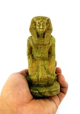 Rare Osiris Statue Egyptian God Figurine Ancient And Afterlife Egypt Dead Isis