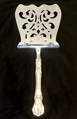 """Old Master by Towle Sterling Silver Asparagus Server Custom Hooded 9 1/2"""""""
