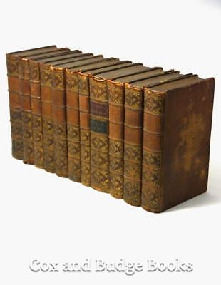 SHAKESPEARE Plays 1771, 11 vols Samuel Johnson, pub THOMAS EWING, DUBLIN leather