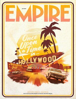 Empire Magazine July 2019: ONCE UPON A TIME IN HOLLYWOOD RARE SUBSCRIBERS COVER