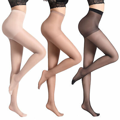 Womens Clubwear See Through Fishnet Sheer Pantyhose Hosiery Thigh-High Stocking