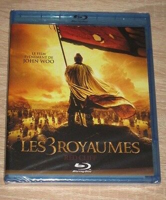 """New Film Blu-ray Disc """"LES 3 ROYAUMES - RED CLIFF - CHI BI"""" [NEUF SOUS CELLO!!!]"""