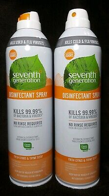 SEVENTH GENERATION BOTANICAL Disinfecting Wipes 8 x 7 White