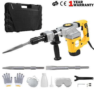 850W Electric Demolition Jack Hammer Draft Drill Impact Concrete Breaker