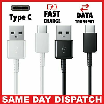Genuine Original Samsung Galaxy S8 S9 A3 A5 A7 USB C NOTE Fast Charger USB Cable