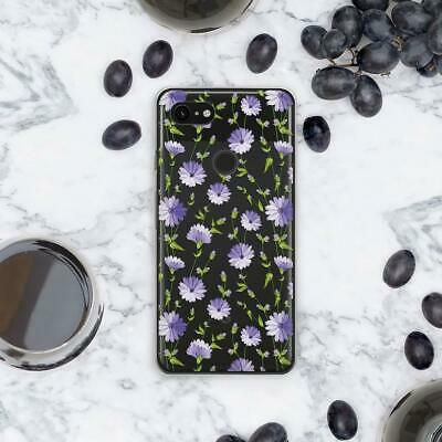 Field Flowers Art Silicone Case For Google Pixel 2 XL Floral Cover Pixel XL 3