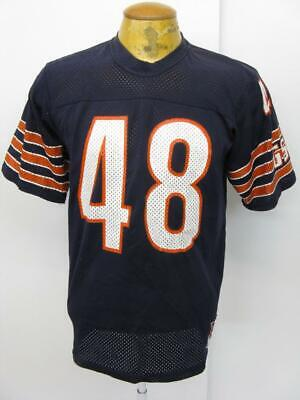 23b8f58977d Mens Vintage Chicago Bears Old Stock Sand Knit NFL Football Jersey Large L