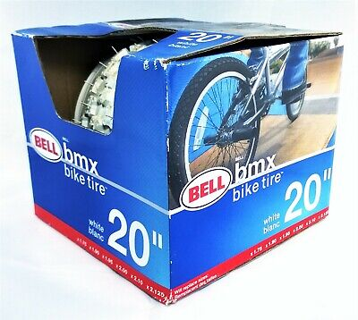 X 1.72-2.125 In White Bell Sports Bike Tire 20 In