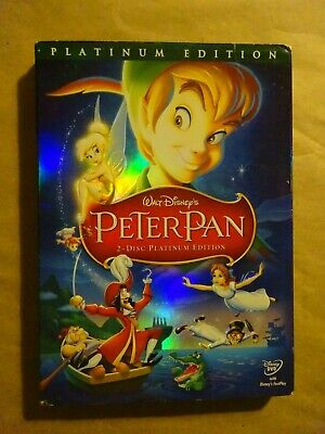 WALT DISNEY PETER PAN Special Edition - 2 Discs - DVD - Used Platinum Edition