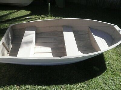 Aluminium Tinny. Boat, Dinghy, Tender.  Length 274cm or 9 ft.  good condition.
