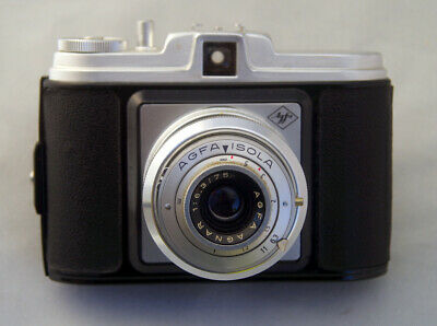 Agfa Isola medium format 120 film camera with 65mm f6.3 lens lomography