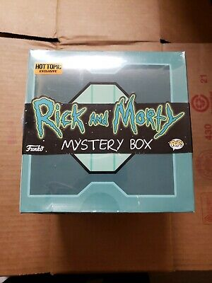 Funko Pop rick & Morty mystery box young Rick sealed Hot Topic exclusive