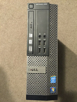 Dell Optiplex 9020 i5-4570@3.2Ghz 8Gb 500GB HDD Win10 Pro