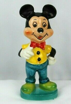 RARE Vintage 1960s Porcelain MICKEY MOUSE Figure 5 1/2 inch M-117