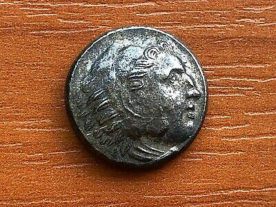 Alexander III the Great 336-323 BC AR Drachma Ancient Greek Silver Coin