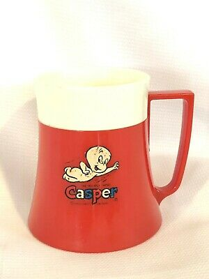 VINTAGE 1971 Quikit Casper The Friendly Ghost Red Plastic Cup