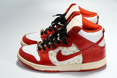 buy popular 21732 e6577 2003 NIKE DUNK High Pro SB Supreme Red sz 9.5 Used Great Condition w  Lacelocks