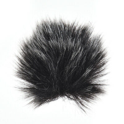 Anoder Furry Outdoor Microphone Windscreen Muff Mini Lapel Lavalier P5Z9