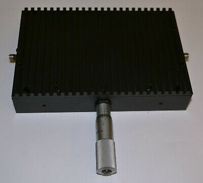 ARRA H2487-10S 100 W 10 dB SMA(f) Variable Attenuator with Microscrew adjustment