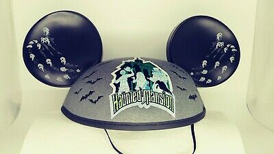 Disney Mouse Ears- Haunted Mansion Hitchhiking Ghosts and Bats