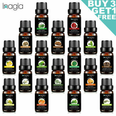 Aromatherapy Essential Oils 100% Pure Therapeutic 10ml (0.3oz) Diffuser SPA US
