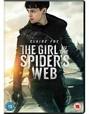 The Girl In The Spider's Web [DVD] [2018] - Region 2 UK
