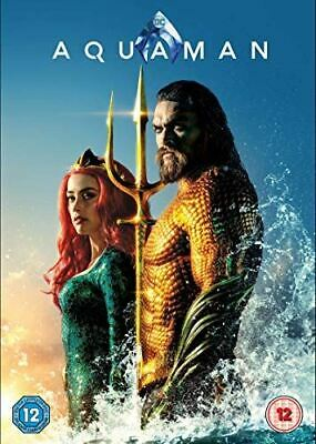 Aquaman [DVD] [2018] - Region 2 UK