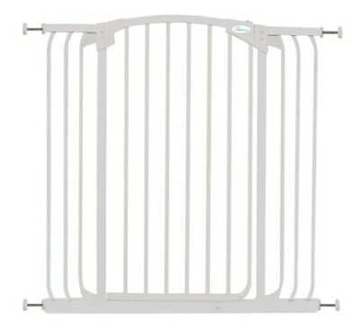 Dreambaby Chelsea Hallway Gate Tall Wide White