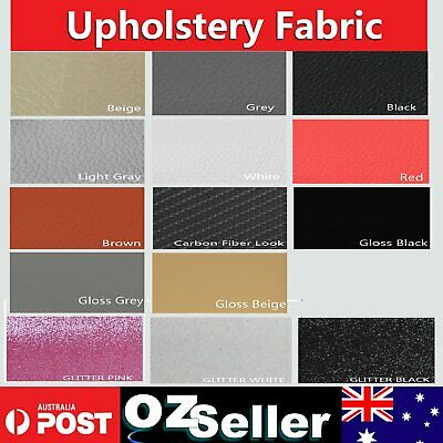 Upholstery Synthetic Leather Vinyl Cloth Fabrics Marine grade Heavy Duty  -1M