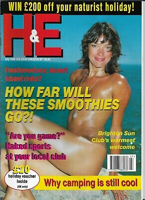 H&E naturist July 1998 magazine nudist health efficiency issue  07