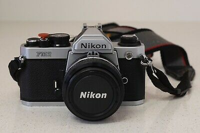 Nikon FM2N 35mm Film Camera with Nikon 50mm f1.4 lens