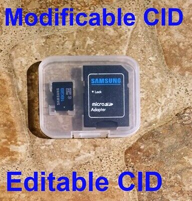 Tarjeta Micro SD Samsung 16GB Made in Korea, CID Editabil,CID Cambiable