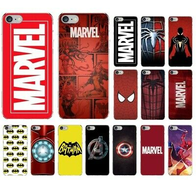 Marvel Comics logo Avengers Transparent case cover for iphone 6 7 8 X XS MAX XR