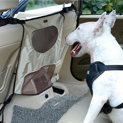 Car Dog Pet Barrier Guard Back Seat Safety Protector Mesh Net Fence Isolation
