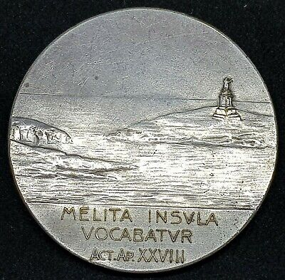1913 Malta National Eucharistic Congress  Medal - Melita Insvla Vocabatvr