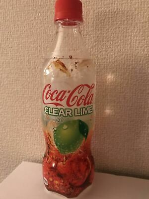 NEW 1 x bottle CLEAR LIME COKE - 500ml Japanese Coca Cola from Japan UNOPENED