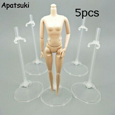 5pcs Toy Stand Support for Barbie Doll Prop Up Mannequin Model Display Holder