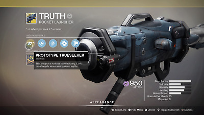 Destiny 2 Truth Exotic Full Quest - Guaranteed (PS4)