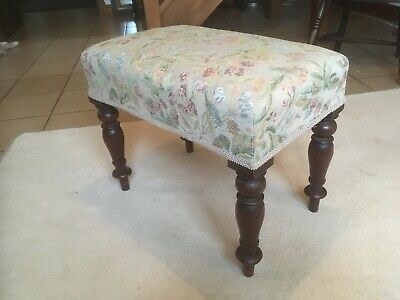 A Pretty Small Victorian Piano Stool C1880