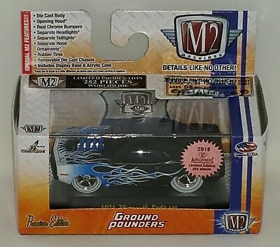 2016 M2 Convention Exclusive Super Chase Car 1971 Plymouth Cuda 440! 1 Of 252!