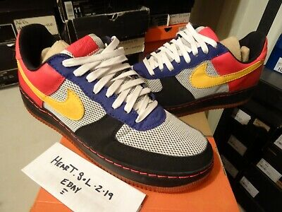 online store 8d0a5 a3a32 2005 Nike Air Force 1 Low Af1 Insideout Albis Pack 312268-071 Sz 13