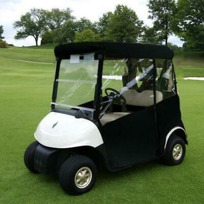 Golf Buggy Enclosure Cover 3 Sided (WHITE) EZGO RXV - STRAIGHTBACK
