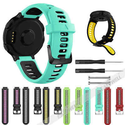 For Garmin Forerunner 735xt 220 230 235 620 630Fashion Silicone Strap Watch Band